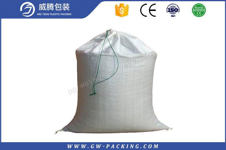 High Load Garbage PP Woven Sack Bags Non - Delaminating Packaging Recyclable for sand, buliding material, etc